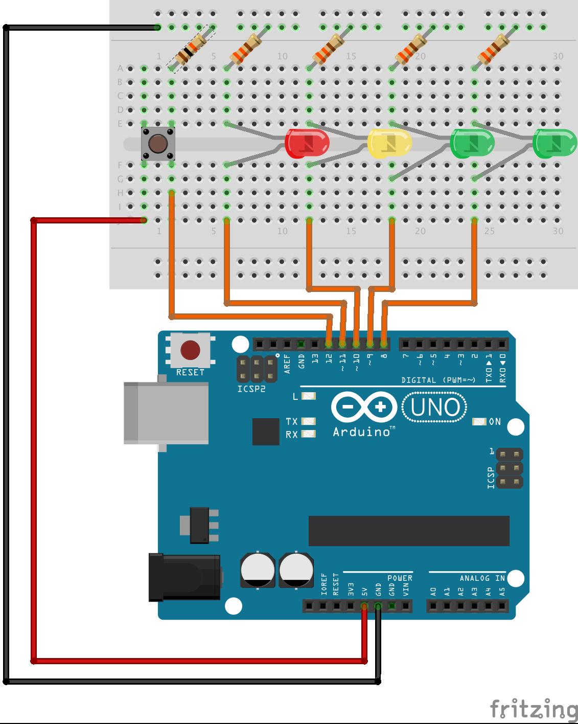 Arduino Stoplight — TGE 0.1 documentation